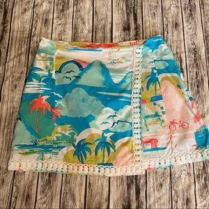 Crown & Ivy Beach Skort Size 4 Petite